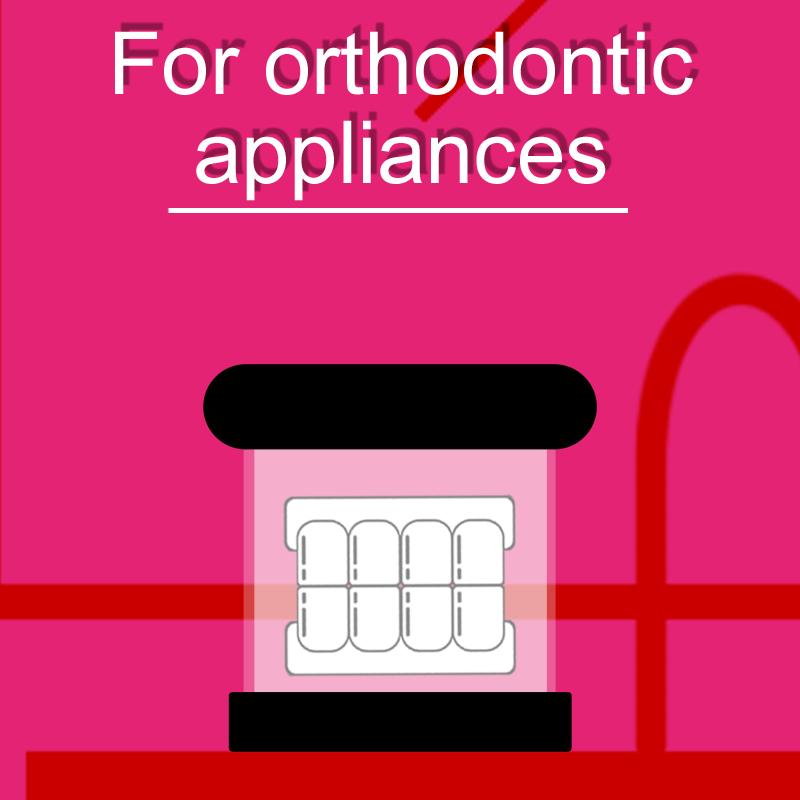 For orthodontic appliances