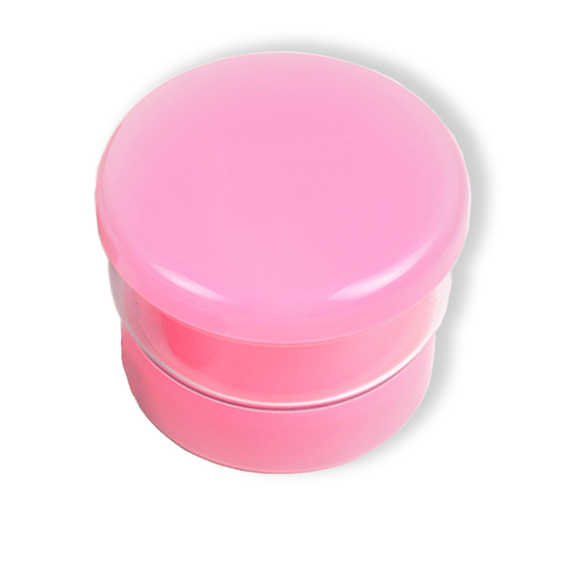 Mini Sonic Denture/ Oral Appliances Cleaning Box - Pink