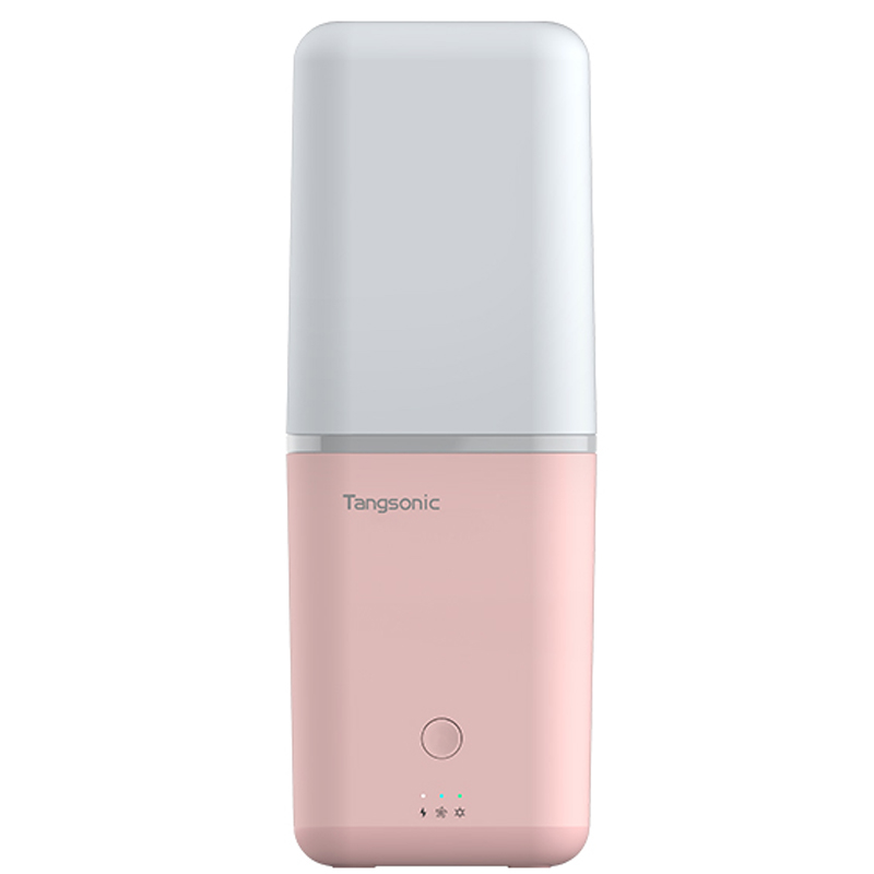 Portable toothbrush air-dried UV disinfection container - Romantic Powder