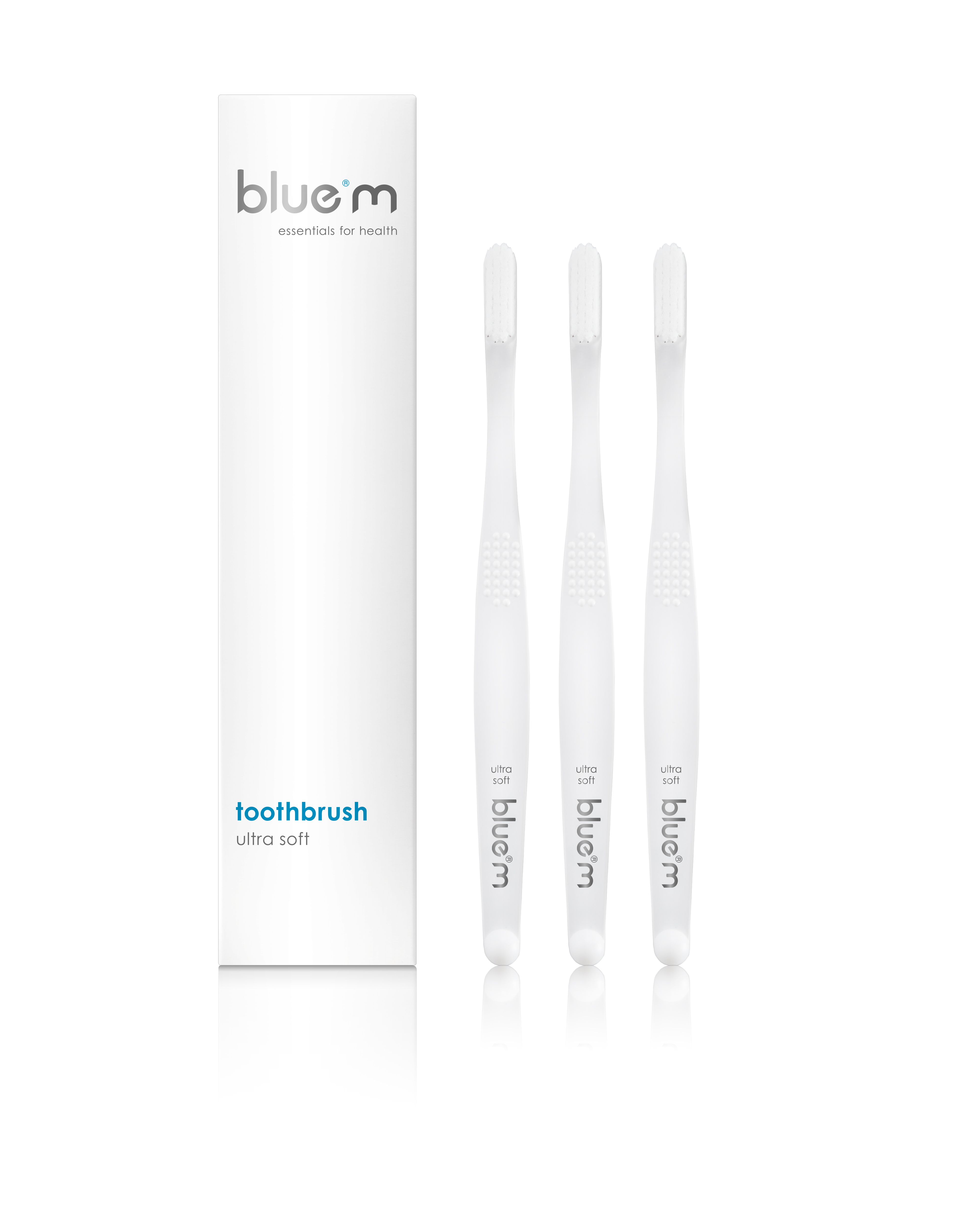BlueM Ultra Soft Toothbrush (3 pieces) - Surgical Toothbrush